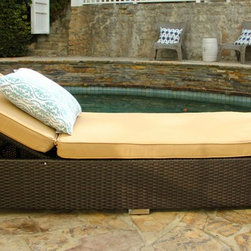Our Work - 3 Piece Chaise Lounge Set (Tan)