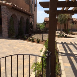 Winery Fencing Project - Riverside County - Local winery fencing for perimeter and balcony, custom design and fabrication by AAV Custom Gates & Automation.