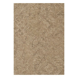 Loloi Rugs - Loloi Rugs DIADDD-05CA007AB0 Diada Camel Contemporary Hand Tufted Rug - The Diada Collection showcases six overall geometric patterns that tango between transitional and contemporary styling. Hand-tufted of 100% wool with loop accents, these textured designs come in mocha, gray, seaweed, smoke, camel, and ivory.