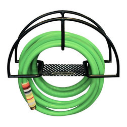 The Original Hose Jockey - Hose Jockey - Sometimes nifty creations truly make life easier. This Hose Jockey, from L.A. designer Scott Nadeau, is a case and point. No more wrestling with your hose as watering your garden is quick and uncomplicated with this organizational tool. Made of steel and ultra modern, you'll have the chic-est garden hose housing on the block!