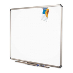 Quartet - Quartet Euro Prestige Total Erase Whiteboard with Grid Pattern - 96 x 48 in. - T - Shop for Dry Erase Boards from Hayneedle.com! About QuartetQuartet knows that you just have to write it down or you'll forget. They've been in the whiteboard bulletin board and chalkboard business since 1945 and have perfected the art of the perfect surface. Today they boast a full line of visual communication products used at home in the office in hospitals and in schools across the country. When you're looking for a product to help you communicate you're looking for Quartet.