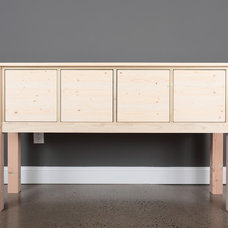 Contemporary Buffets And Sideboards Console Table