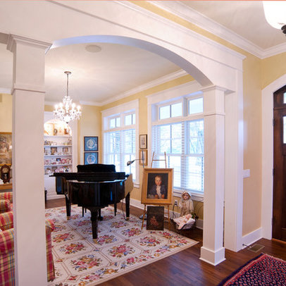 Interior Archway Column Home Design Ideas, Pictures, Remodel and Decor