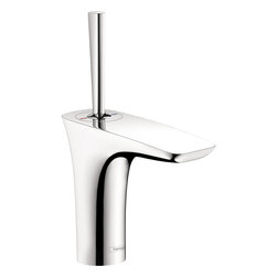 PuraVida 110 Single-Hole Faucet - Model Number 15074001 • Solid brass • Ceramic cartridge • Includes pop-up assembly • 16o adjustable aerator spray • Flow 1.5 GPM: 30% Water Savings