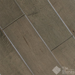 Windsor Collection Metallic Charcoal Maple Handscraped - Call to order: 1-877-558-8484