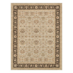 """Loloi Rugs - Loloi Rugs Stanley Collection - Grey / Expresso, 7'-7"""" x 10'-5"""" - The magnificent Stanley Collection features modern interpretations of the most sophisticated hand knotted designs. Recreated in Egypt with power loomed technology these gorgeous polypropylene area rugs offer an affordable alternative."""