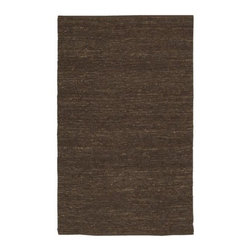 Surya - Continental COT1933 Hand Woven Jute Rug in Brown (2' x 3') - Choose Size: 2 ft. x 3 ft.. Exotic and earthy with a warm, natural look, this environmentally friendly rug will be an inspired addition to your home's decor. Perfect for global design styles, the rug is hand woven of natural jute and is finished in brown. It is available in your choice of sizes. Hand Woven. Made in India. Made from 100% Natural Jute