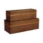 Arteriors Trinity Wooden Boxes, Set of2 -