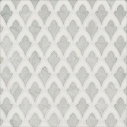Talya Multi Finish 8 3/4x13 1/2 Sophia A Av Marble Waterjet Mosaics -