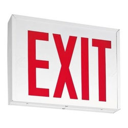Lithonia Lighting - Lithonia Lighting Steel LED Emergency Exit Sign LXNY S W 3 R 120/277 EL N - Shop for Lighting & Fans at The Home Depot. The Lithonia Lighting Steel LED Emergency Exit Sign is suitable for applications requiring heavy-duty steel exit signage. This exit sign can be used in industrial warehouses and manufacturing facilities and is New York City approved.