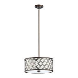 Cyan Design - Cyan Design Lighting - 04657 Small Byzantine Pendant - Cyan Design 04657 Small Byzantine Pendant