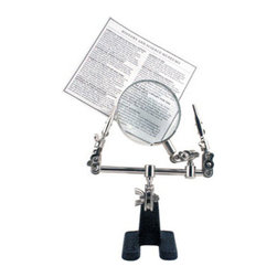 Bigger And Better Magnifying Glass - One part personal assistant and the other part unique décor, this magnifying glass is a cute way to integrate practicality into your sense of style. Use it to help work on an intricate craft project, make reading a little easier on your eyes, or store mail that still requires your attention.