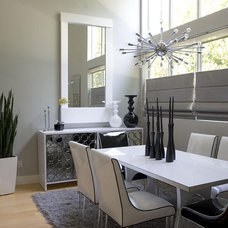 Modern Dining Room by Solar Shading Systems