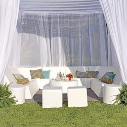 La-Fete Romp Club Now Collection - A 13-pc grouping for an instant cabana to entertain friends