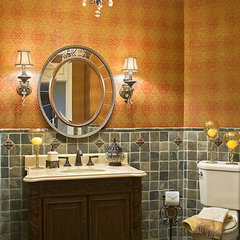 traditional bathroom by Lauren Nicole Designs