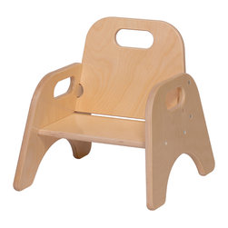 Steffywood - Steffywood Toddler Child Indoor Classroom Playroom School Stackable Chair - Our stackable toddler chair is constructed of all birch panels.  Dado construction with glue and screws.  Handle cutouts.