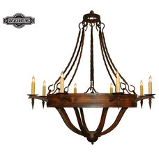 Eclectic Chandeliers by Inspired Iron
