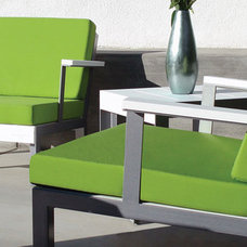Contemporary Outdoor Chairs by Plushpod