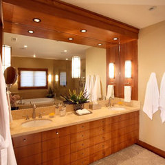 contemporary bathroom by H&amp;H Design