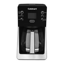 Cuisinart - Cuisinart DCC-2800 14-cup Perfec Temp Coffeemaker - Brew delicious coffee with this 14-cup coffeemaker from Cuisinart. Fully programmable,a large digital display panel and brew strength control highlight this coffeemaker.