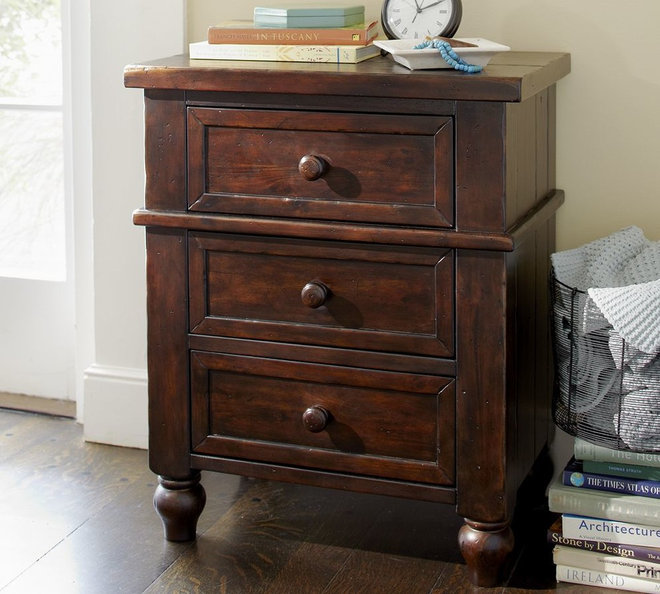 traditional nightstands and bedside tables by Pottery Barn