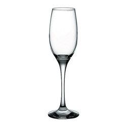 Hospitality Glass - 8.5H x 1.75T x 2.5B Maldive 6 oz Champagne Flute 48 Ct - Maldive 6 oz Champagne Flute