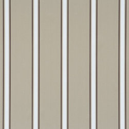 Walls Republic - Extend Taupe Wallpaper R1244, double roll - Extend is a classic striped wallpaper with a pattern of large, medium, and small scale stripes. In a range of neutral colours this simple stripe can be a good backdrop in a variety of spaces. Use it in your hallways for a classic look.