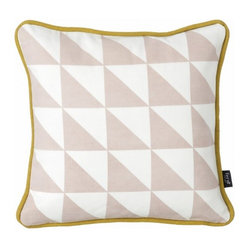Little Geometry Pillow, Rose