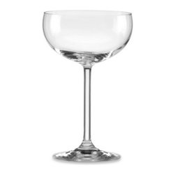 Lenox - Lenox Tuscany Classics 9-Ounce Champagne Saucer (Set of 4) - The romantic Tuscany Vineyards provided the inspiration for this classically designed crystalware. These saucer-shaped glasses feature long, slender stems - perfect for raising a glass in toast.