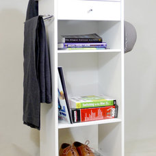 Clothes And Shoes Organizers Nightstand Valet Stand