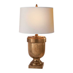 Large Chunky Urn Table Lamp