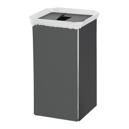 Gray white laundry hamper laundry hampers find laundry basket and laundry bag ideas online - High end laundry hamper ...