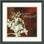 Amanti Art - Tranquil Framed Print by Maria Woods - The rich, bold tones and eye-catching design of 'Tranquil' will add a touch of sophistication any room.