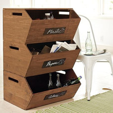 Modern Recycling Bins by Pottery Barn