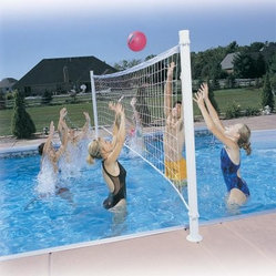 Pro Volly Retrofit Pool Volleyball Kit