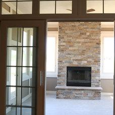Contemporary Patio by Orendorf Custom Homes, LLC