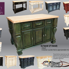 Modern Kitchen Islands And Kitchen Carts by CJ's Home Decor & Fireplaces