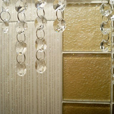Contemporary Powder Room by WalkOn Tile