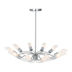 Solar 10-Light Chandelier