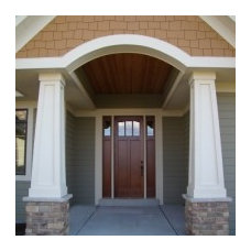 Traditional Entry by Arrow Millwork and Cabinetry