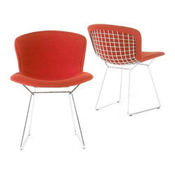 Knoll - Knoll | Bertoia Side Chair, Fully Upholstered - Design by Harry Bertoia, 1952.