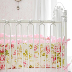 New Arrivals Inc. - In Full Bloom Crib Bumper - In Full Bloom Crib Bumper