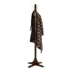 Winsome - Winsome Jera Coat Rack Tree in Cappuccino Finish - Winsome - Coat Racks - 40972 - Attractive and elegant coat tree that is great looking and perfect for any home.