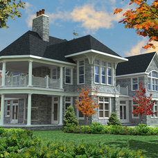 Traditional  by Andrew Nuzzi Architects, LLC