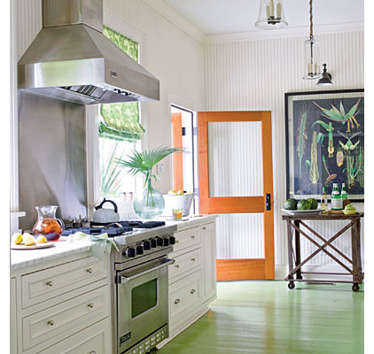 Painted Floors - 50 Comfy Cottage Rooms - Photos - CoastalLiving.com