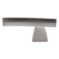 "Top Knobs - Arched Knob/Pull - Brushed Satin Nickel (TKTK2BSN) - Arched Knob/Pull 2 1/2"" - Brushed Satin Nickel"