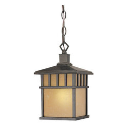 Dolan Designs - Dolan Designs 9713 Energy Star One Light Hanging Light with Photocell from the B - *Energy Star Single Light Hanging Fixture