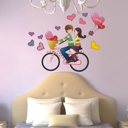 Home Goods - Turn any room in your home from ordinary to extraordinary with our great series of Romantic Love wall stickers!