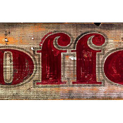 Red Horse Signs - Rustic Vintage Sign offee izable - Rustic  Vintage  Sign  -  Coffee  -  Customizable    Make  your  kitchen  come  alive  with  this  rustic  vintage  coffee  sign  printed  directly  on  distressed  wood.  Measuring  7x30,  this  sign  has  all  the  imperfections  of  aged  weathered  wood  for  a  rustic  style  and  appearance.  Please  allow  up  to  three  weeks  for  delivery.    Product  Specifications:        Vintage  Appeal    Finished  size:  7x30    Printed  directly  to  distressed  wood