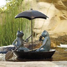 Traditional Garden Sculptures by FRONTGATE